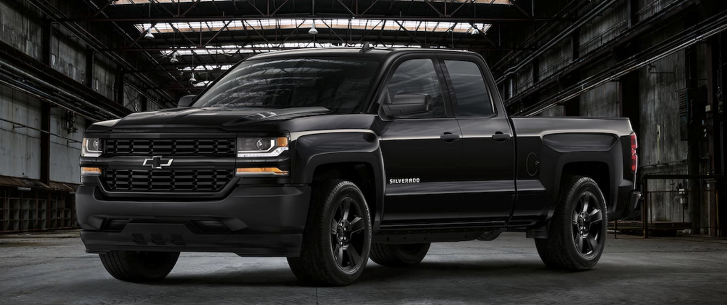 2017 chevy silverado blackout. Black Bedroom Furniture Sets. Home Design Ideas