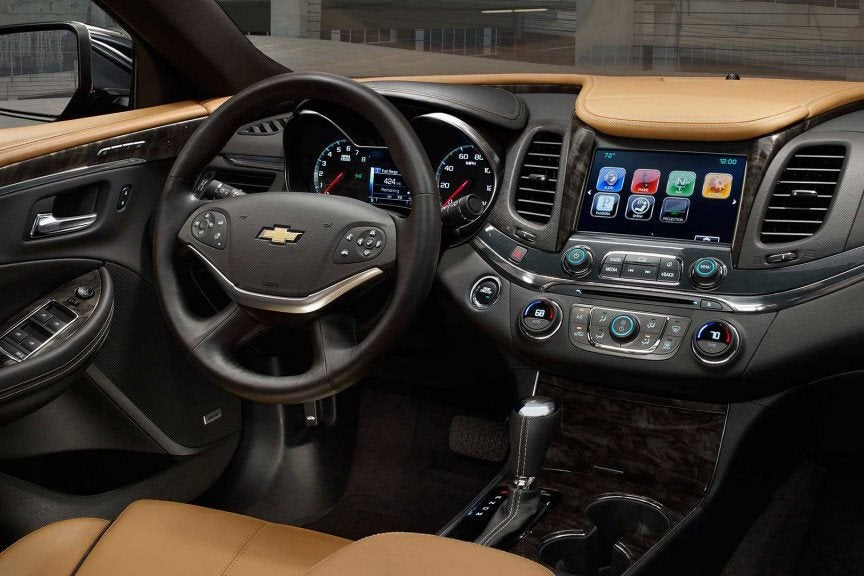 2016 Chevy Malibu Impala Technology